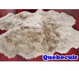 770019 tapis peau de mouton sheepskin