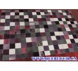900625 cowhide rug tapis peau de vache PATCHWORK