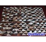 900634 cowhide rug tapis peau de vache PATCHWORK
