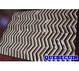 900638 cowhide rug tapis peau de vache PATCHWORK