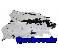 A 40471  Cowhide rug Tapis peau de vache Collection Quebecuir Premium XXL