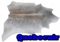 A 40540 Cowhide rug Tapis peau de vache Collection Quebecuir Premium