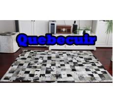 A 40710 Cowhide rug Tapis peau de vache PATCHWORK Collection Quebecuir Premium