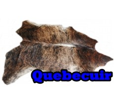A 40711 Cowhide rug Tapis peau de vache Collection Quebecuir Premium XXXXL SUPER BIG SIZE