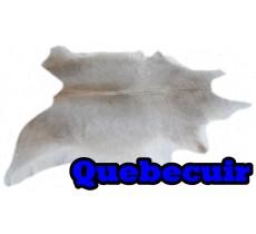 A 40713 Cowhide rug Tapis peau de vache Collection Quebecuir Premium