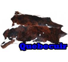 A 40720   Cowhide rug Tapis peau de vache   Collection Quebecuir Premium