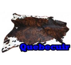 A 40721   Cowhide rug Tapis peau de vache   Collection Quebecuir Premium