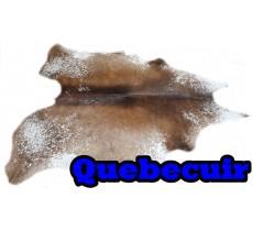 A 40723   Cowhide rug Tapis peau de vache   Collection Quebecuir Premium