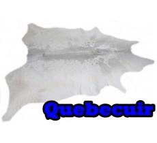 A 40730  Cowhide rug Tapis peau de vache  Collection Quebecuir Premium