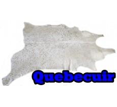 A 40740  cowhide rug tapis peau de vache XXXXL  GOLDEN  METALLIC Collection Canada Premium SUPER SIZE