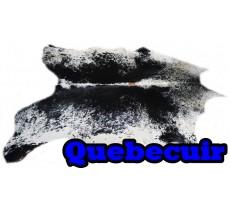 A 40743  cowhide rug tapis peau de vache  Collection Canada Premium