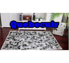 A 40770 Cowhide rug Tapis peau de vache PATCHWORK Collection Quebecuir Premium