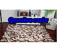 A 40771 Cowhide rug Tapis peau de vache PATCHWORK Collection Quebecuir Premium