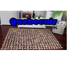 A 40772 Cowhide rug Tapis peau de vache PATCHWORK Collection Quebecuir Premium