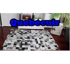 A 40773 Cowhide rug Tapis peau de vache PATCHWORK Collection Quebecuir Premium