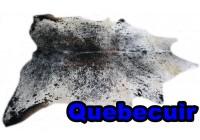 A 40904 Cowhide rug Tapis peau de vache Collection Quebecuir Premium
