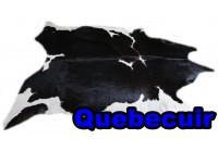 A 40906 Cowhide rug Tapis peau de vache XXXL SUPER BIG SIZE Collection Quebecuir Premium