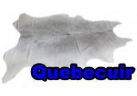 A 40910 Cowhide rug Tapis peau de vache  Collection Quebecuir Premium