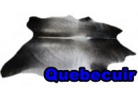 A 40911 Cowhide rug Tapis peau de vache XXXL SUPER BIG SIZE Collection Quebecuir Premium