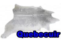 A 40920 Cowhide rug Tapis peau de vache Collection Quebecuir Premium