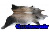 A 40921 Cowhide rug Tapis peau de vache Collection Quebecuir Premium