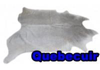 A 40930 Cowhide rug Tapis peau de vache Collection Quebecuir Premium