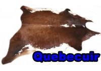 A 40931 Cowhide rug Tapis peau de vache Collection Quebecuir Premium