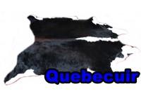 A 40932 Cowhide rug Tapis peau de vache Collection Quebecuir Premium