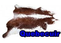 A 40933 Cowhide rug Tapis peau de vache Collection Quebecuir Premium