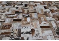 A 40940 Cowhide rug Tapis peau de vache PATCHWORK   Collection Quebecuir Premium