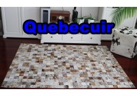 A 40941 Cowhide rug Tapis peau de vache PATCHWORK   Collection Quebecuir Premium