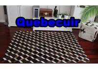 A 40952 Cowhide rug Tapis peau de vache PATCHWORK Collection Quebecuir Premium