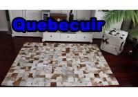 A 40953 Cowhide rug Tapis peau de vache PATCHWORK Collection Quebecuir Premium