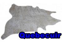 A 40963 Cowhide rug Tapis peau de vache GOLDEN  METALLIC Collection Quebecuir Premium