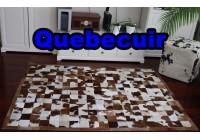A 40973 Cowhide rug Tapis peau de vache PATCHWORK Collection Quebecuir Premium