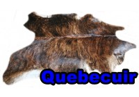 A 45000  Cowhide rug Tapis peau de vache    Collection Quebecuir Premium