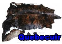 A 45003  Cowhide rug Tapis peau de vache XL    Collection Quebecuir Premium